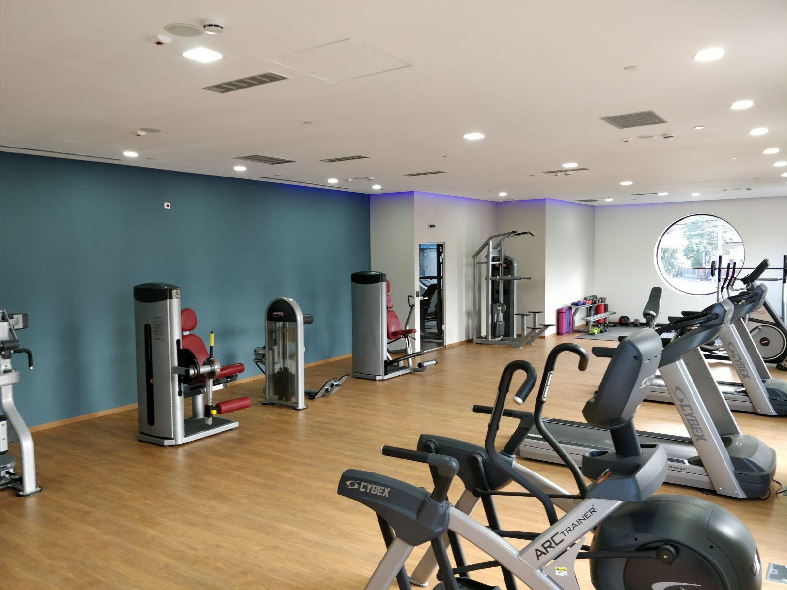 sala de fitness prahova plaza hotel